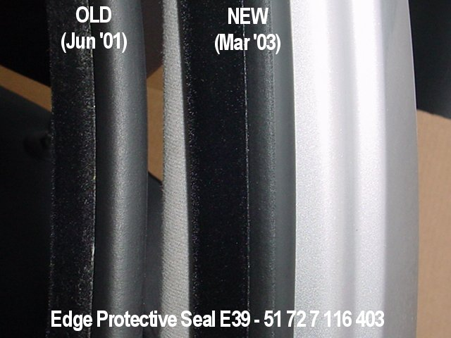Bmw E39 Rubber Door Seals