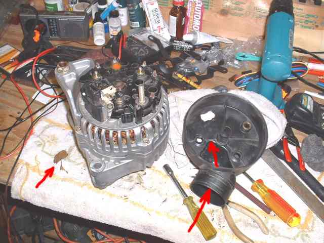 Pic2g use 58 socket and remove alternator bottom bolt unplug wire at back of alternator and peel back rubber and using 12mm socket remove asfbconference2016 Image collections