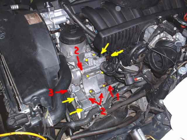 5 Picture 3 Shows The Oil Filter Housing Without The